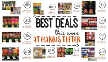 Harris Teeter Best Deals This Week!