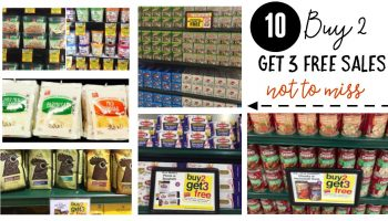 -TEN- Buy 2 get 3 FREE Sales NOT to Miss at Harris Teeter! {2/22 – 2/28}