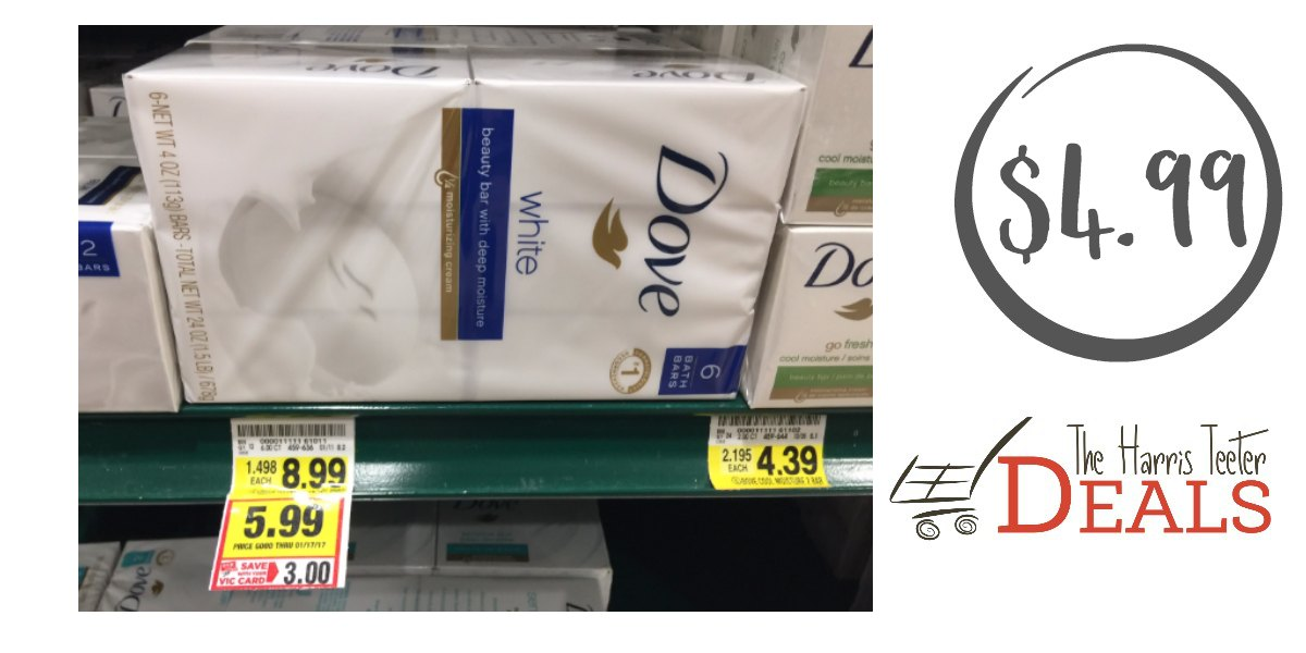 Dove Bar Soap $4.99 - The Harris Teeter Deals