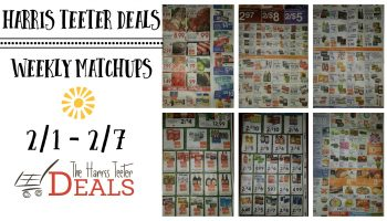 Harris Teeter Deals Weekly Matchups 2/1 – 2/7