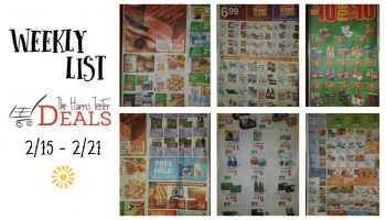 Harris Teeter Deals Weekly Ad & Matchup List 2/15 – 2/21