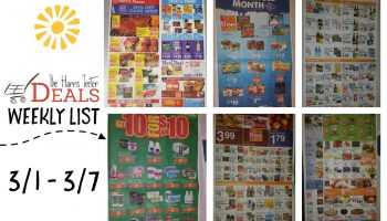 Harris Teeter Deals Weekly Ad & Matchup List 3/1 – 3/7 {Complete List}