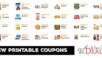 NEW Month LOTS of NEW Printable Coupons! {Get Yours!}