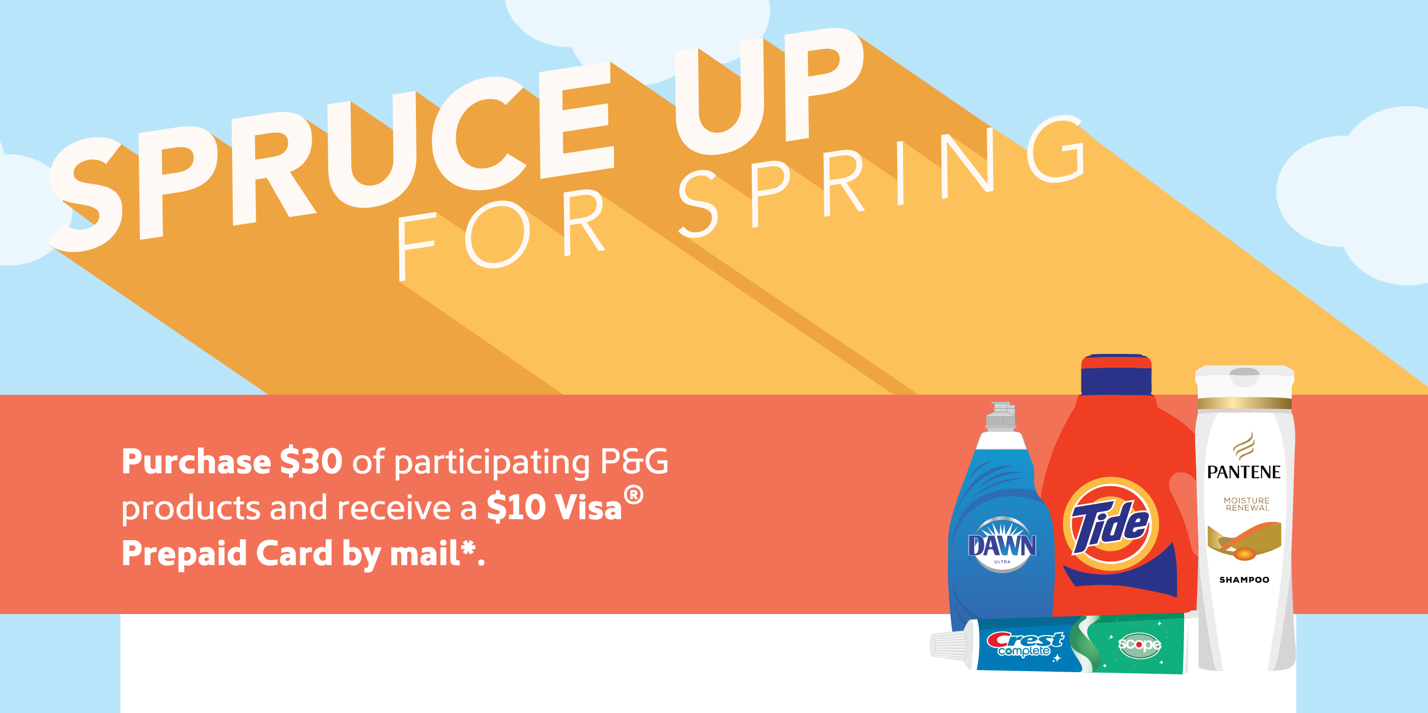 Harris Teeter P&G Spruce Up for Spring Gift Card Promo - The ...