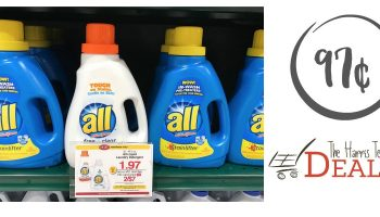 All Detergent Only 97¢ at Harris Teeter!