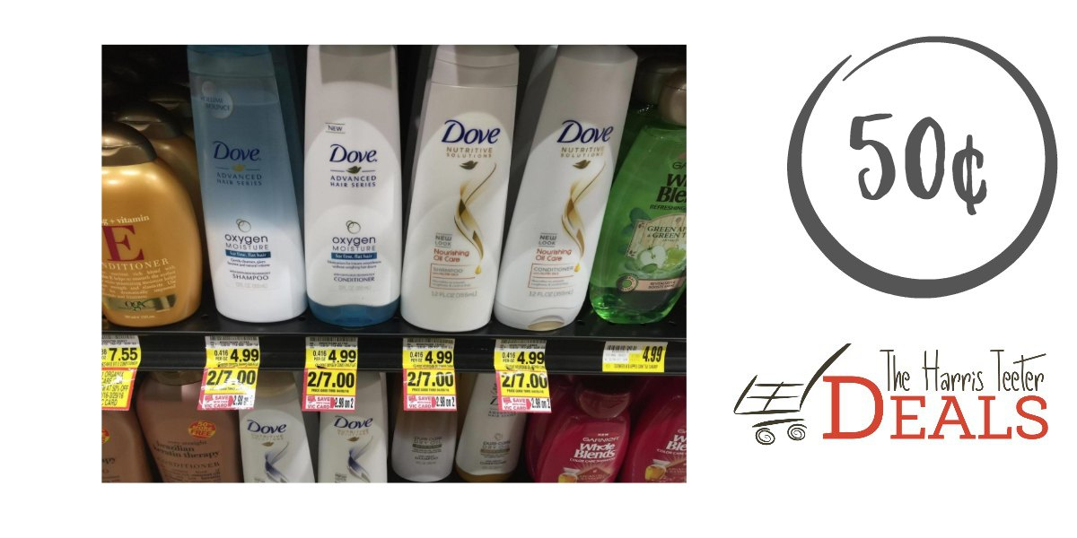 Dove Shampoo and Conditioner {new e-coupon} - The Harris Teeter Deals