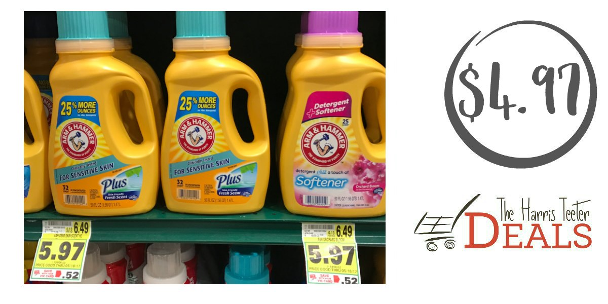 Arm & hammer liquid laundry detergent printable coupons