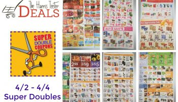 Harris Teeter Super Doubles in APRIL Matchups {Rumored 4/2 – 4/4}