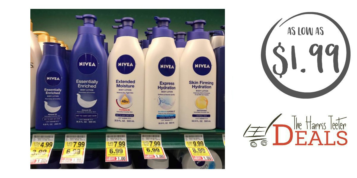 New Nivea Lotion as low as $1.99 at Harris Teeter! - The Harris Teeter Deals