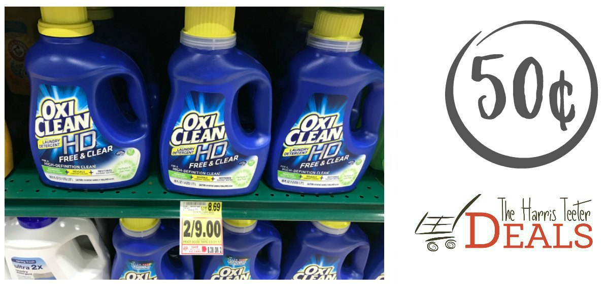 Oxi Clean Laundry Detergent Just 50 162 New E Coupon The