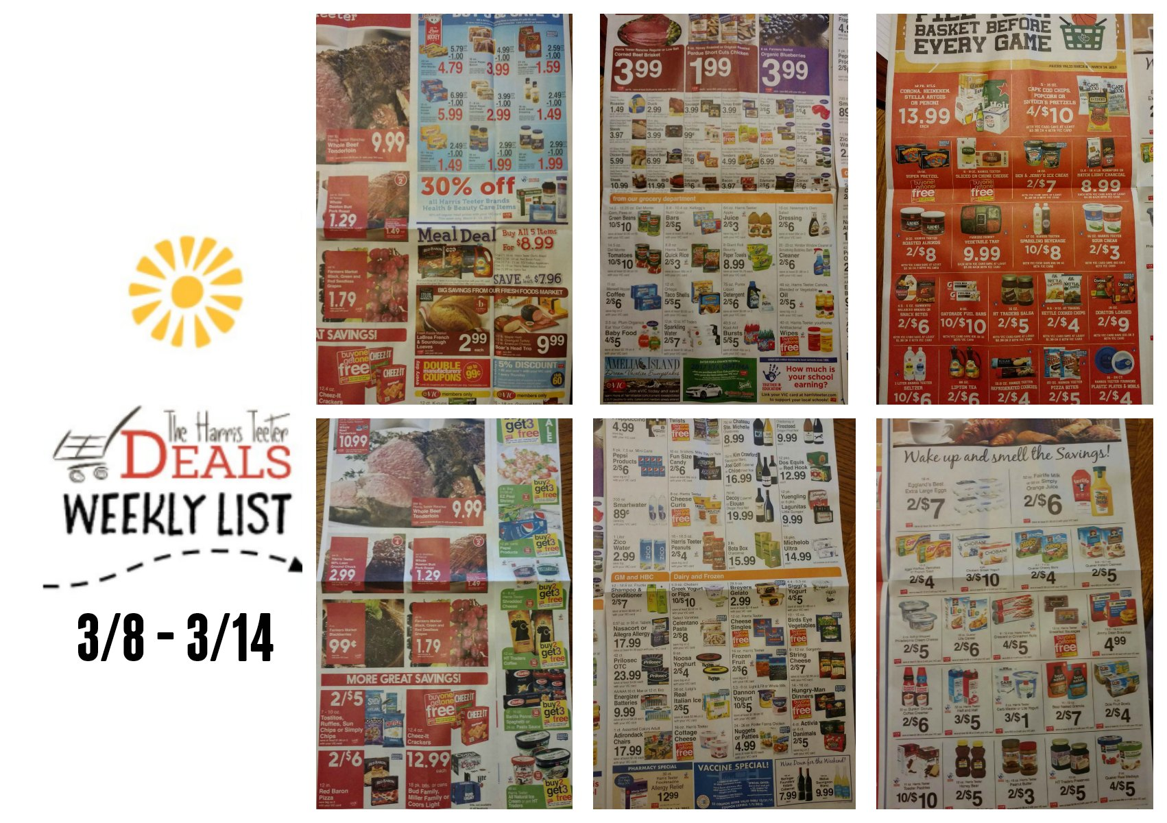 Harris Teeter Deals Weekly Ad Matchup List 3 8 14 Complete Minute Maid Homestyle Orange 1l