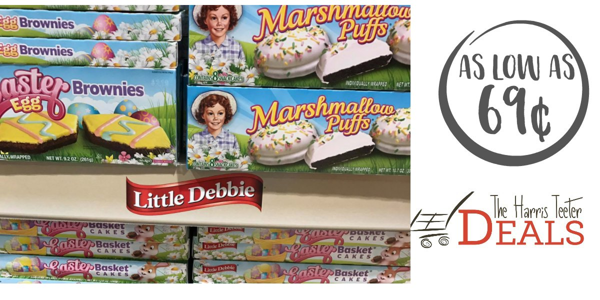 New Little Debbie Cake Coupon As Low As 69 162 At Harris