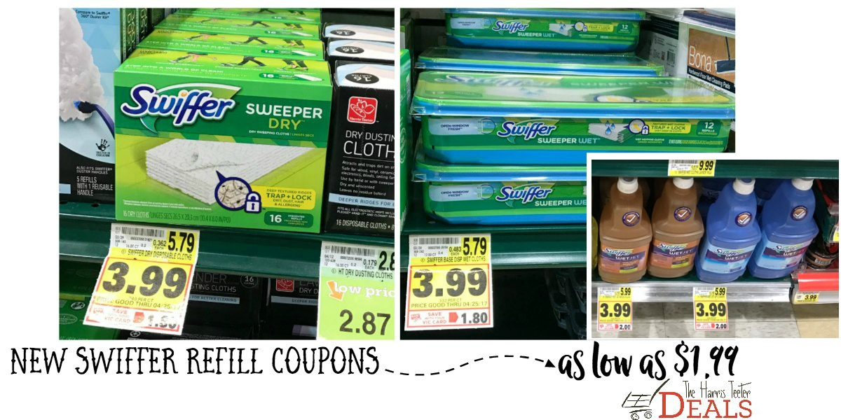Swiffer Refills As Low As 1 99 Normally 5 79 The