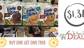 Entenmann's Little Bites $1.34 at Harris Teeter!
