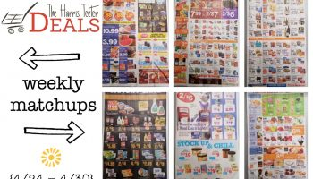 Harris Teeter Deals Weekly List and Coupon Matchups 5/24 – 5/30