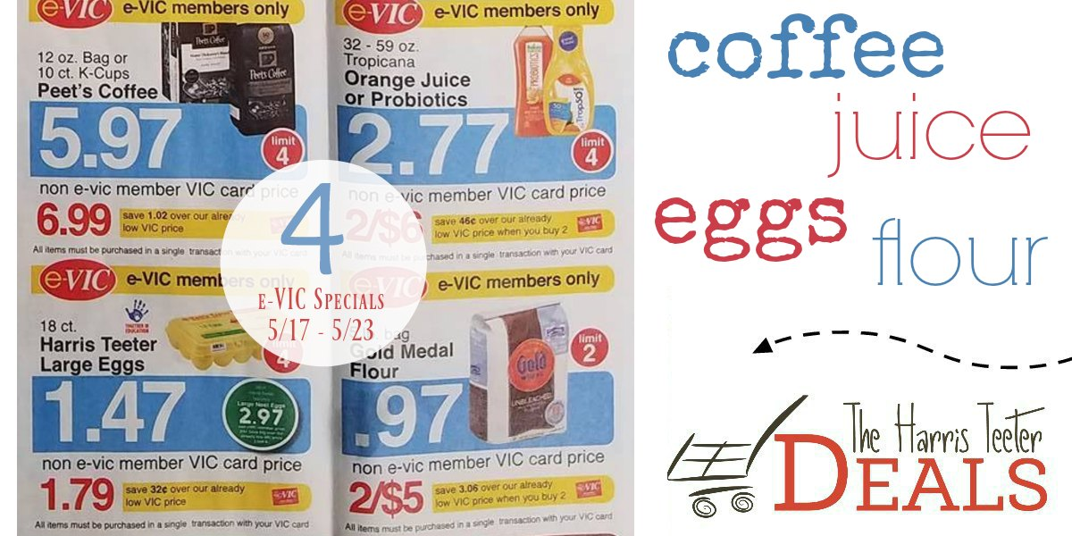 4 e-VIC Specials This Week