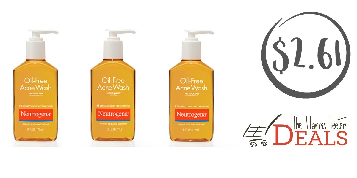 Neutrogena Acne Wash $2.61 {normally $7.49!} - The Harris Teeter Deals