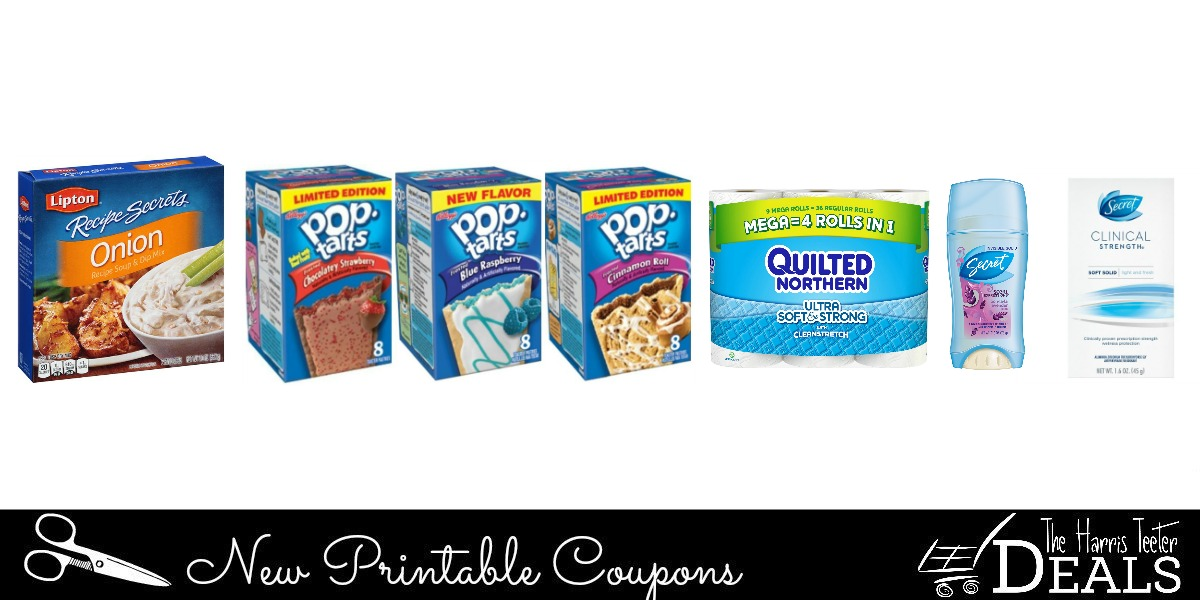 New Printable Coupons Secret Quilted Northern Pop Tarts