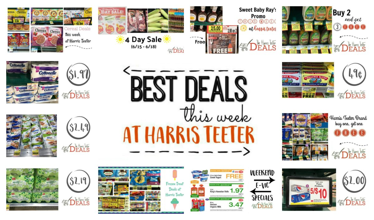 Best Deals at Harris Teeter THIS Week! {Weekend FREEbie + HOT Promos ...