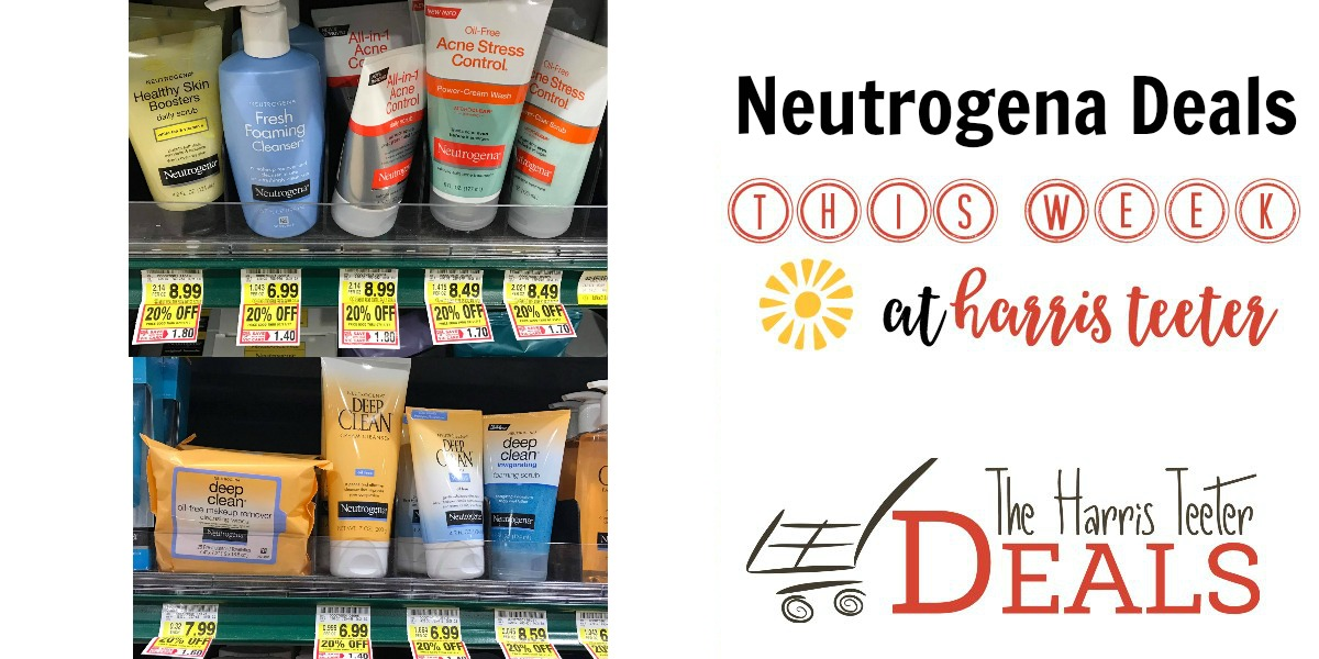 Neutrogena Items 20% OFF! HUGE $3 Coupon as low as $2.19! - The Harris Teeter Deals