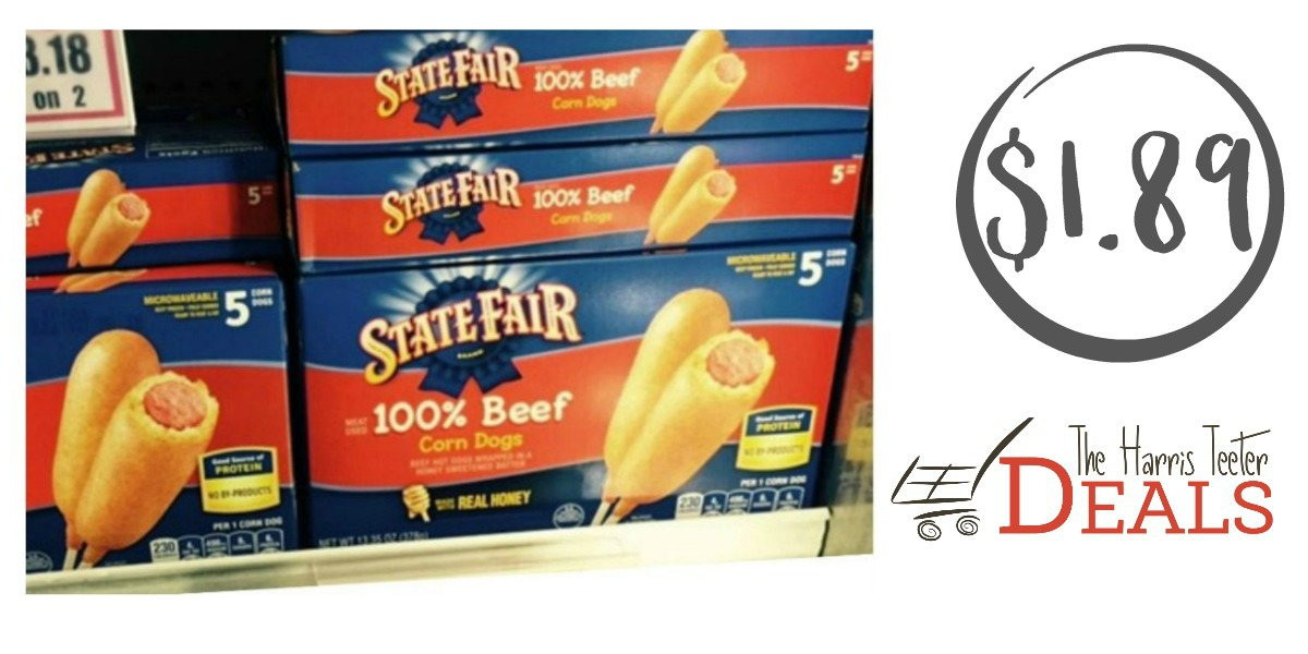 New State Fair Corn Dog Coupon Harris Teeter Deal The