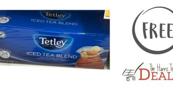 FREE Tetley Tea Bags 6/21 – 6/27 at Harris Teeter!