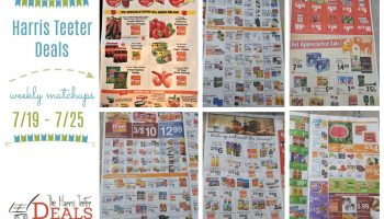 Harris Teeter Deals Weekly List and Coupon Matchups 7/19 – 7/25