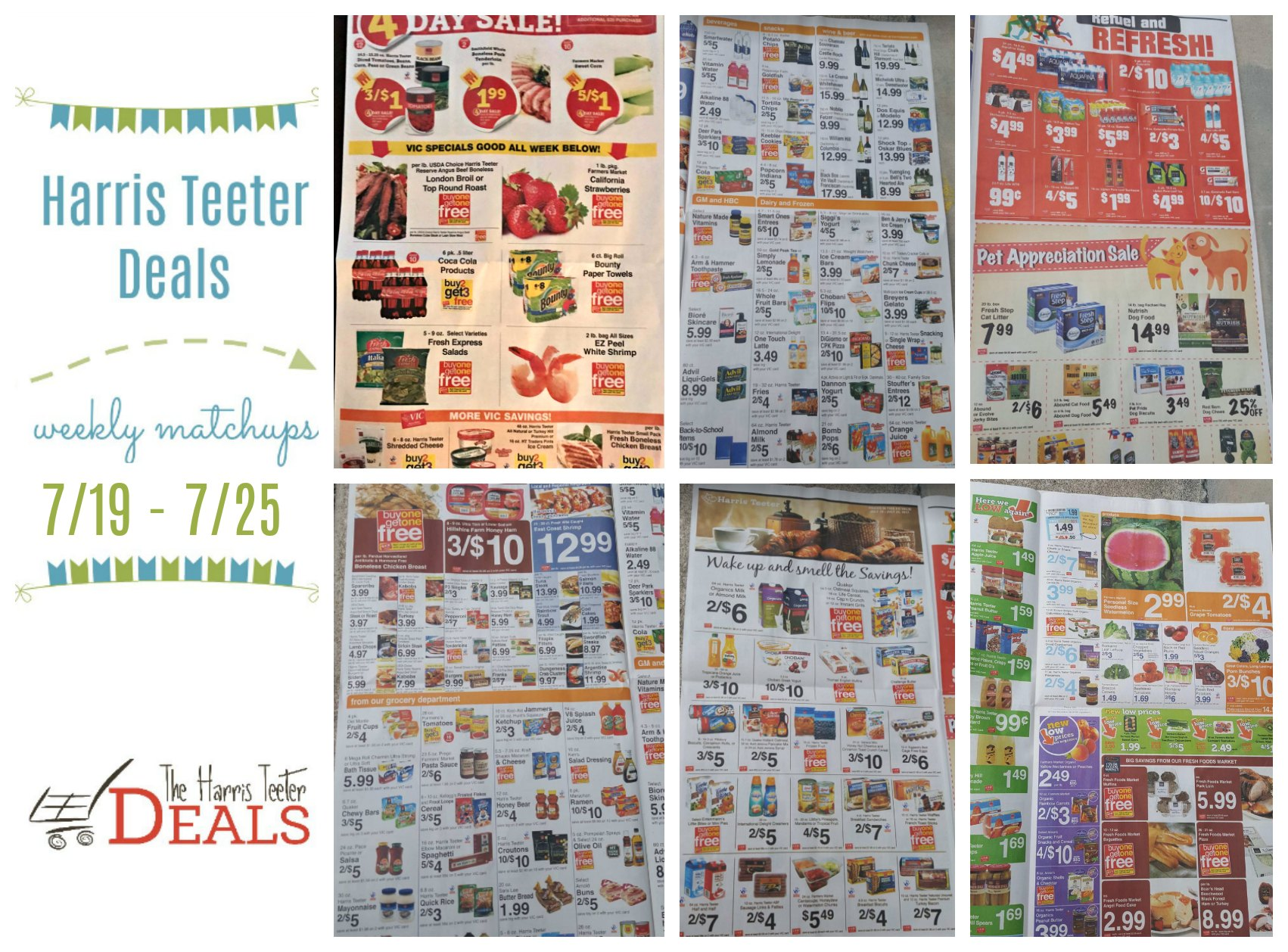 Harris Teeter Deals Weekly List and Coupon Matchups 7/19 – 7/25 - The Harris Teeter Deals