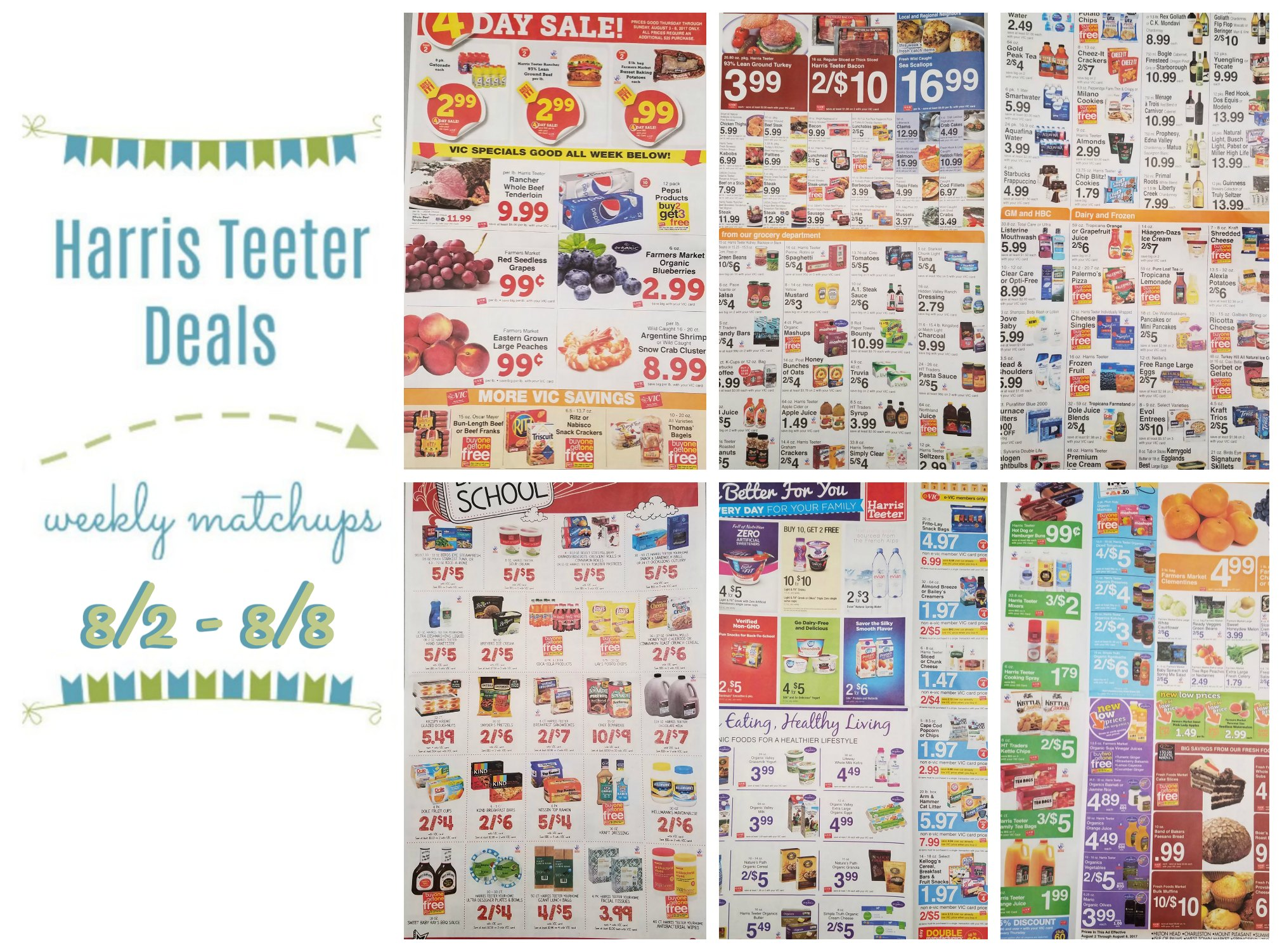 Weekly Matchup List Archives Page 10 of 28 The Harris Teeter Deals