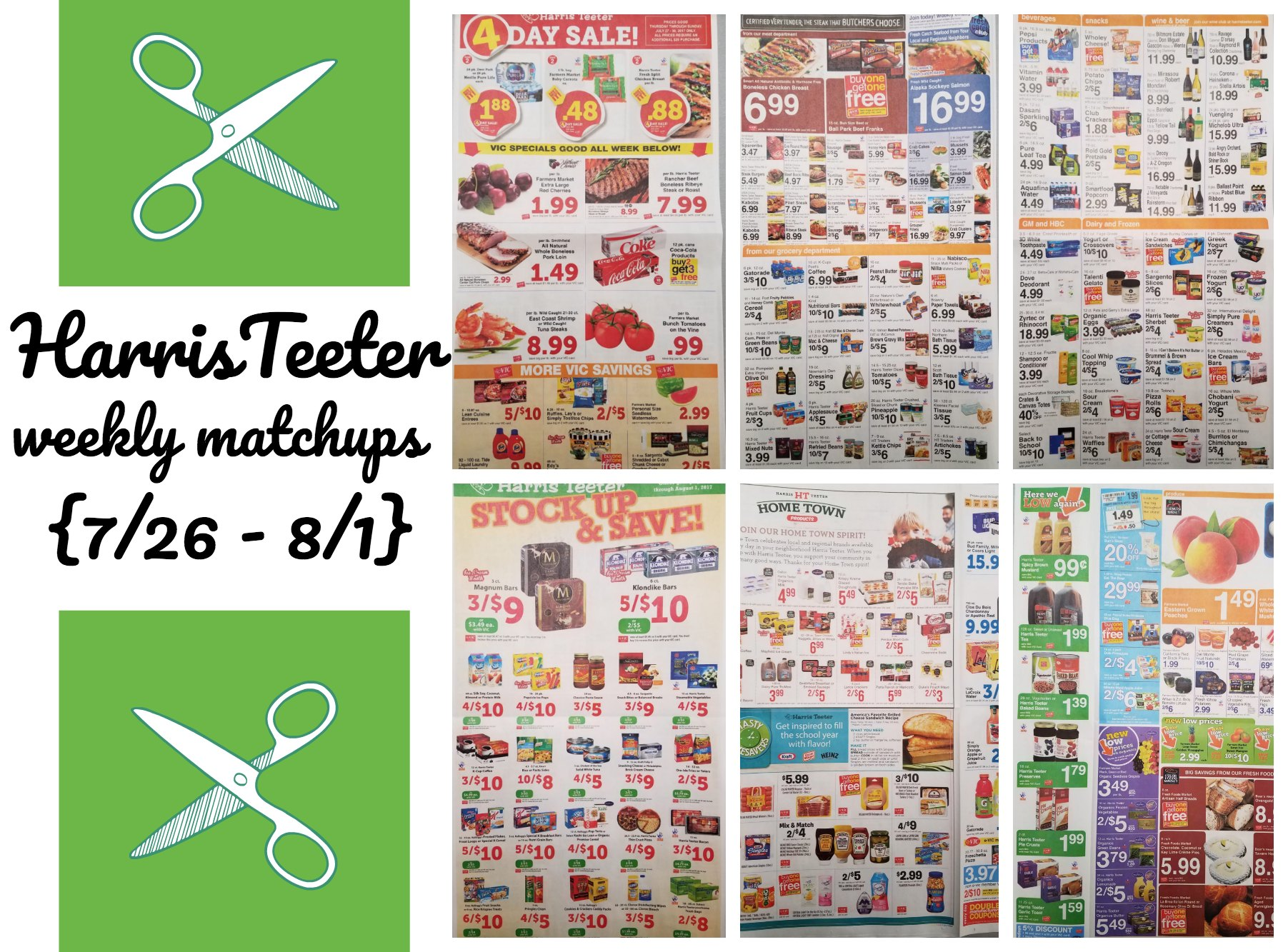 weekly matchup list archives the harris teeter deals