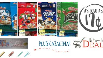 *HOT* Kellogg's Cereal Deals! As low as 67¢ + Catalina Offer at Harris Teeter!