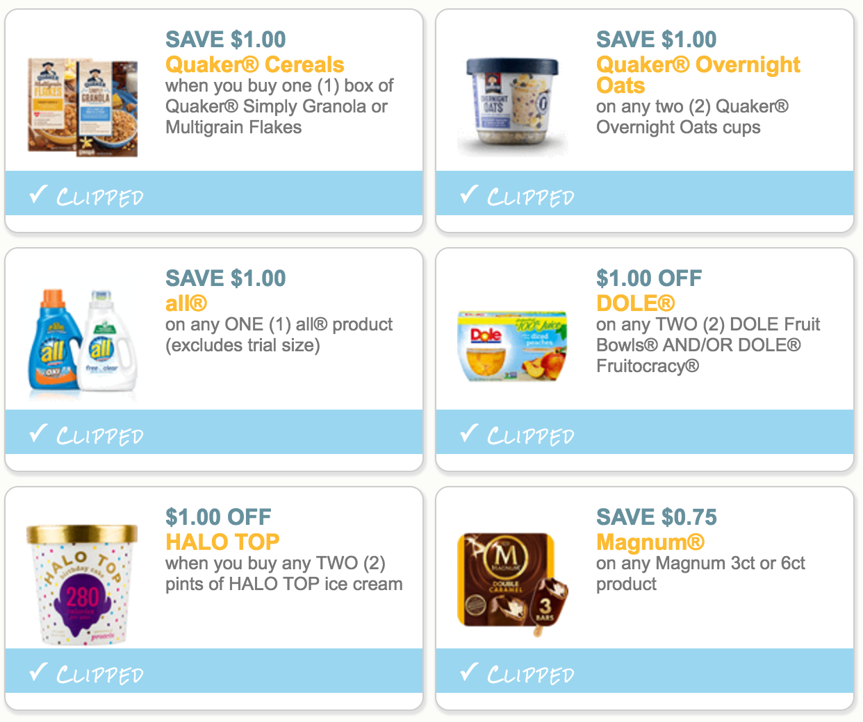 Halo top coupons 2019