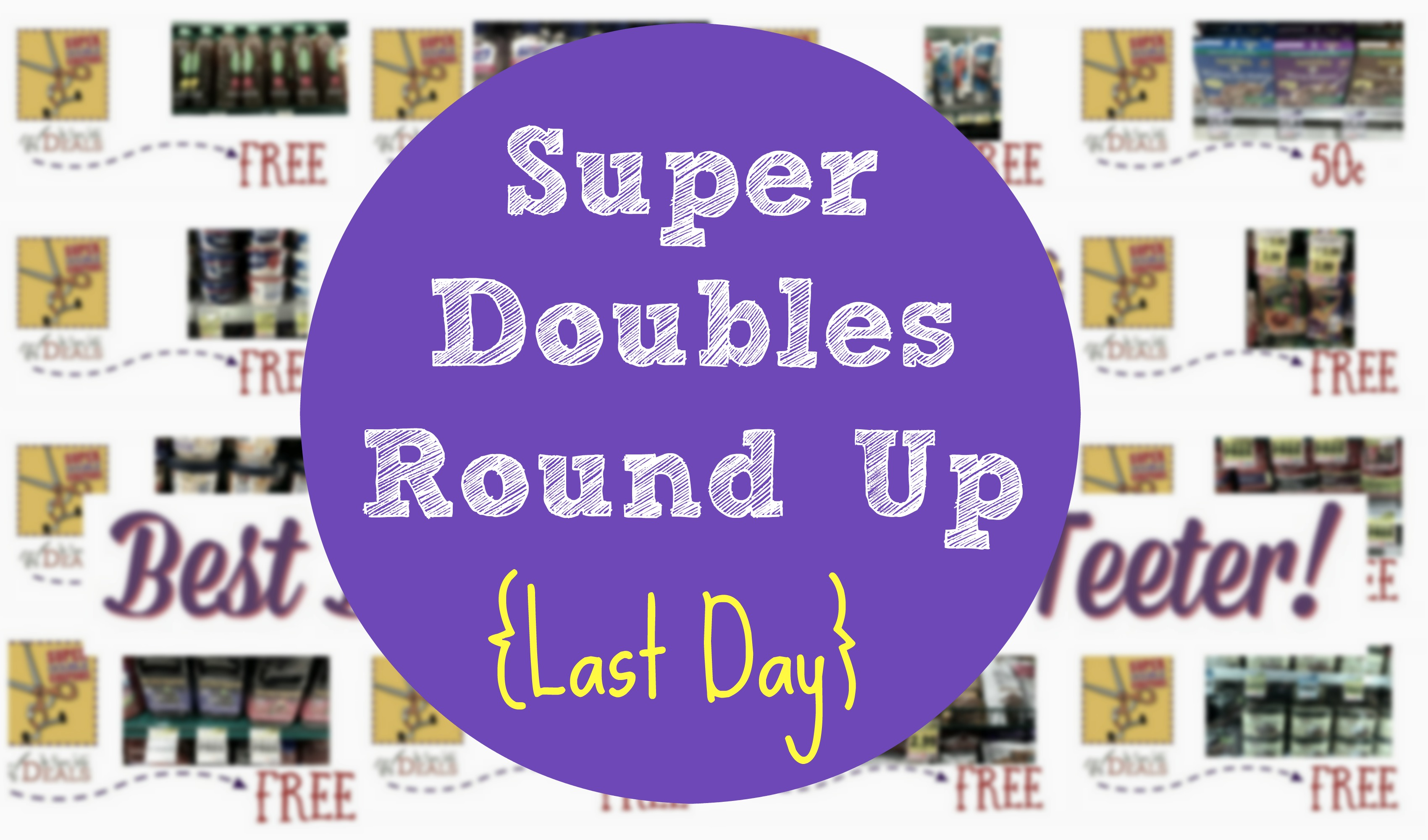 Image result for Last day of Super Doubles!