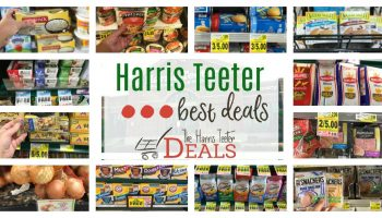 Harris Teeter Best Deals THIS Week: Weekend Round-Up!