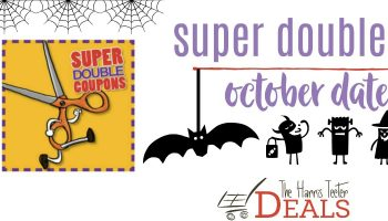 Harris Teeter Super Doubles October Details!