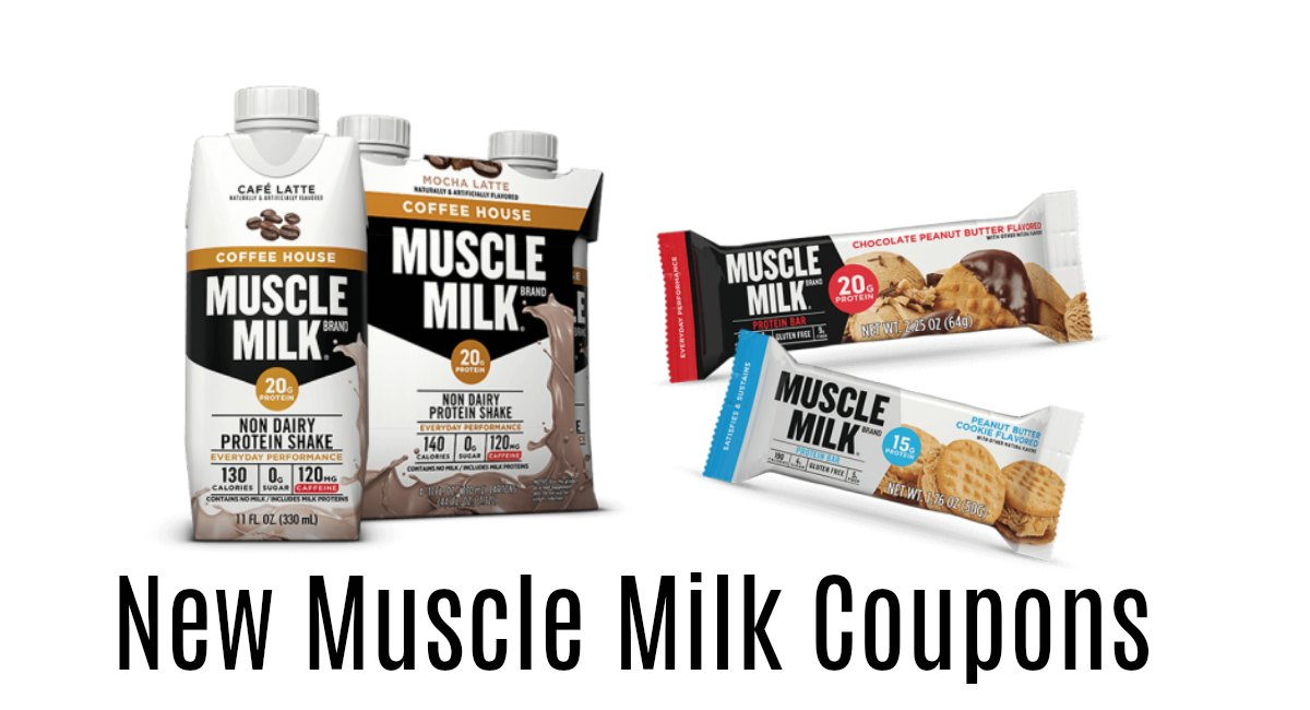 30 deals were found for Muscle Milk. Deals are available from 2 stores and 2 brands. An additional discount is available for 6 items. Last updated on December 1,