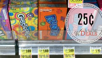 Theater Box Candy Only 25¢ at Harris Teeter!