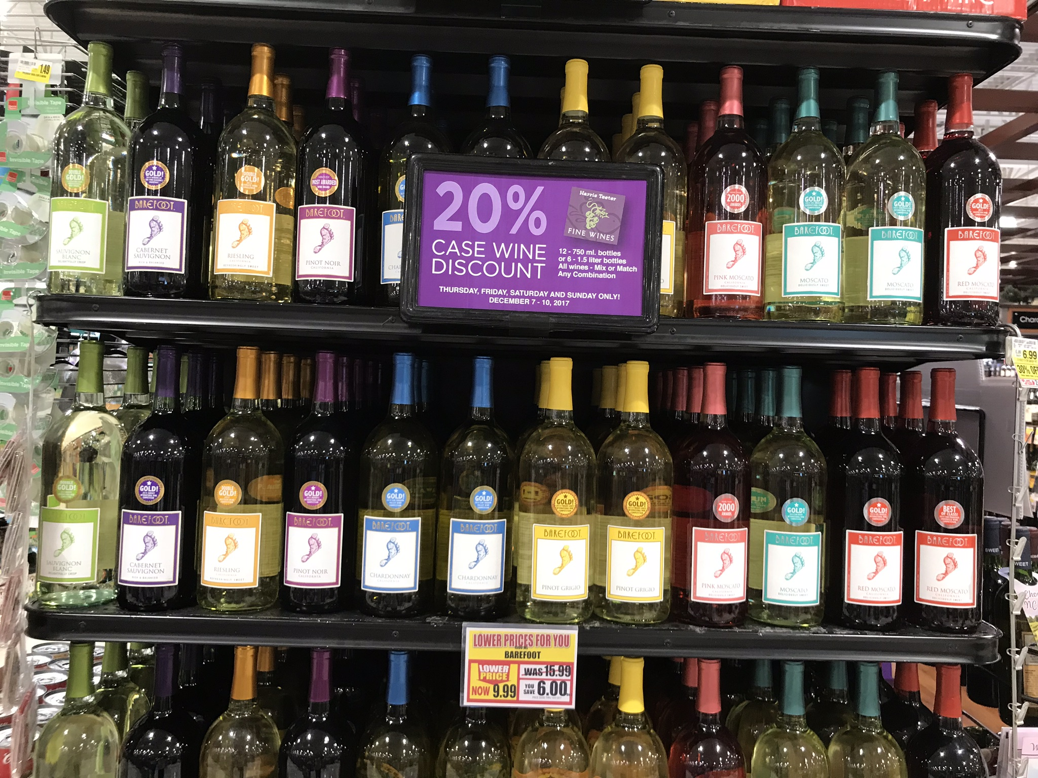 20 Off Case Wine Through 12 10 At Harris Teeter