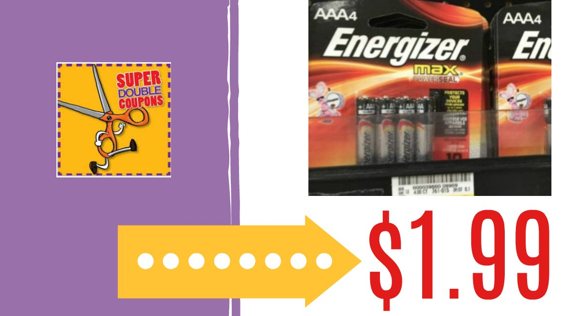 Energizer Batteries Only $1.99 at Harris Teeter! - The