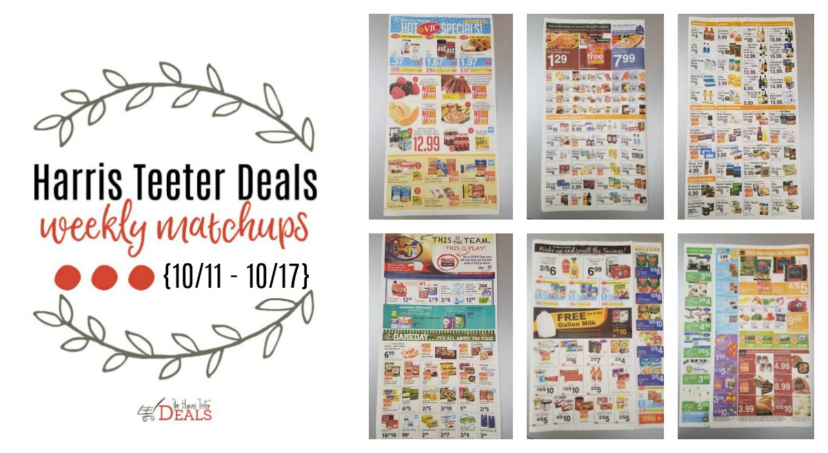 Harris Teeter Deals Weekly List and Coupon Matchups 10/11 – 10/17 ...