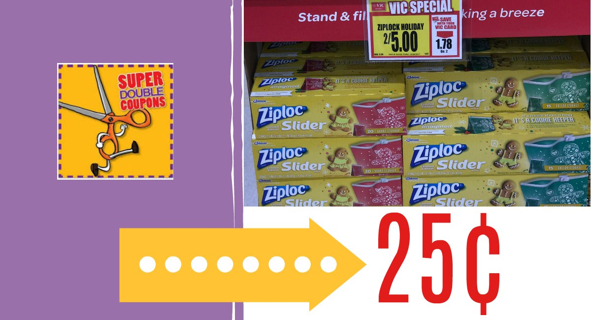 LAST DAY! Ziploc Bags as low as 25¢ {gift card offer} - The Harris ...