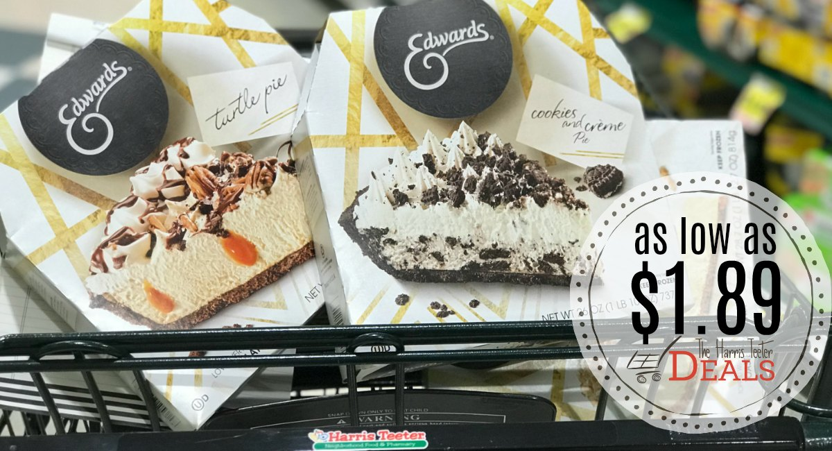 Need a pie for Thanksgiving? Edward's Pies as low as $1.89 at Harris Teeter!