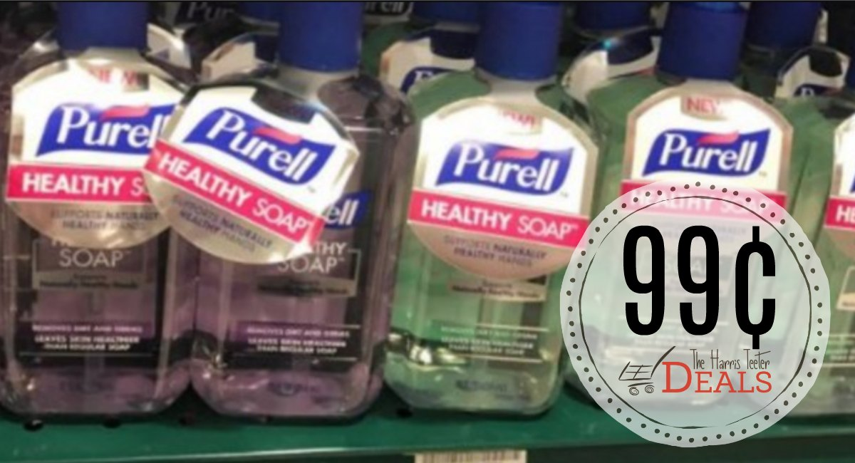 Purell Hand Soap 99¢ at Harris Teeter!