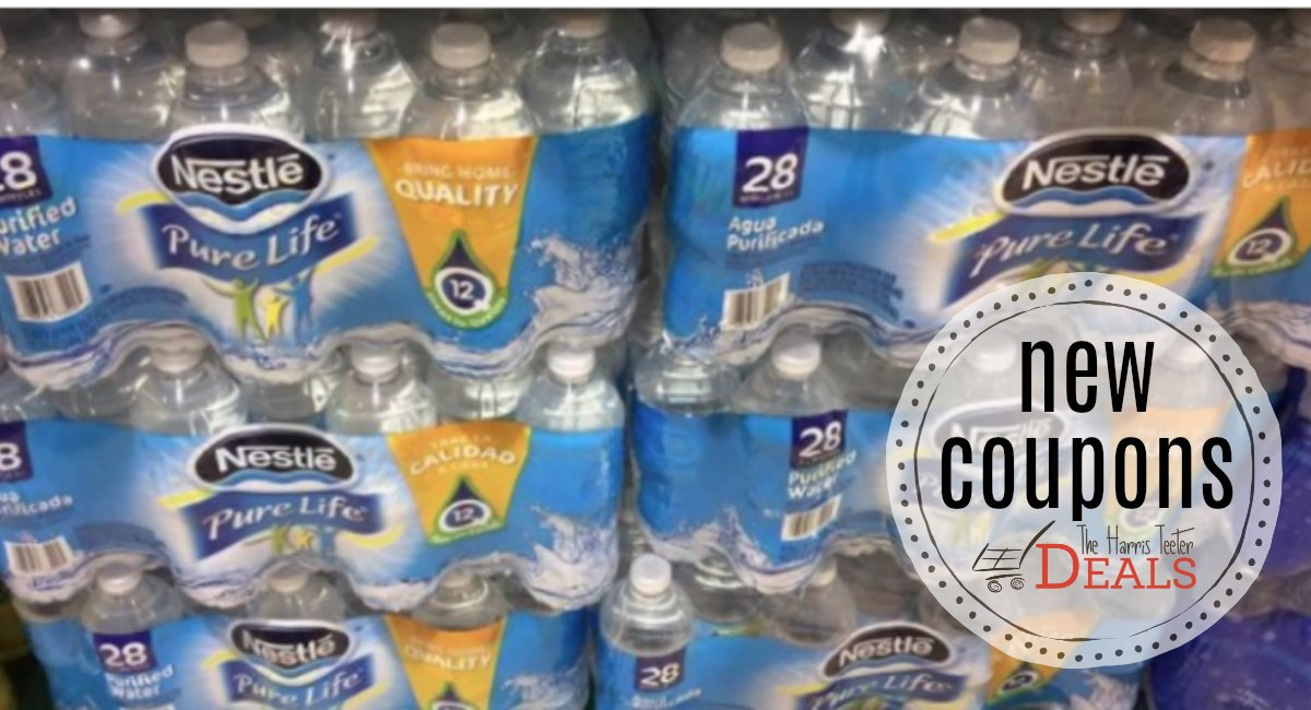 NEW Nestle Pure Life Water Coupons! - The Harris Teeter Deals