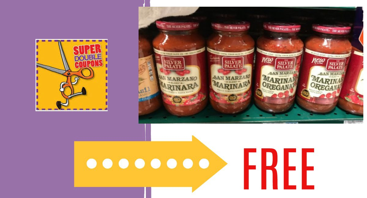 FREE Silver Palate Sauce during Super Doubles through 1/12 -New Link!