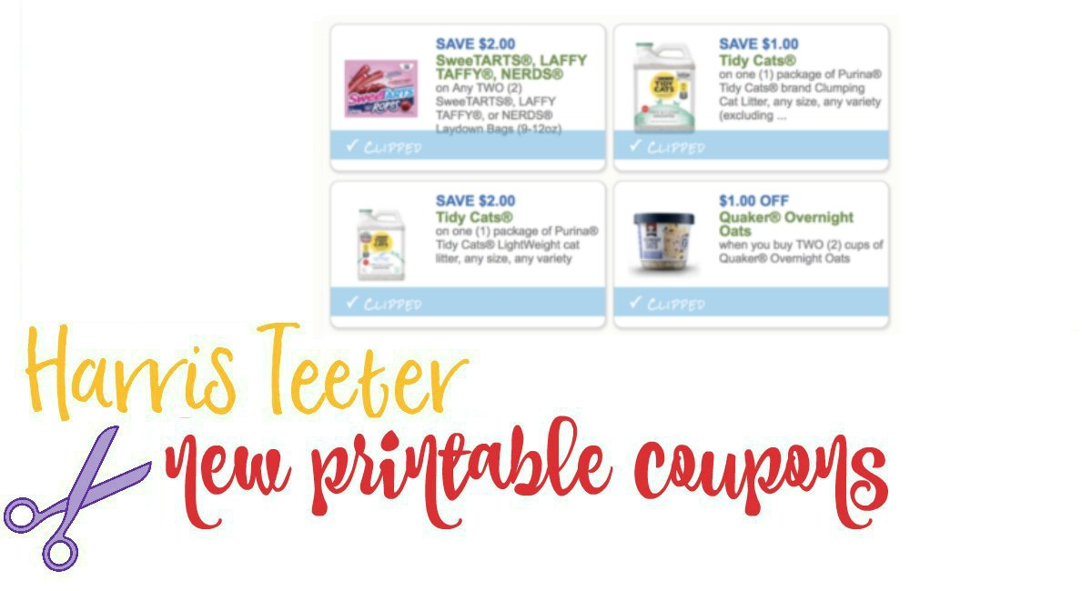 picture about Tidy Cat Printable Coupons called Clean Printable Coupon codes Tidy Cats, SweeTarts, Quaker