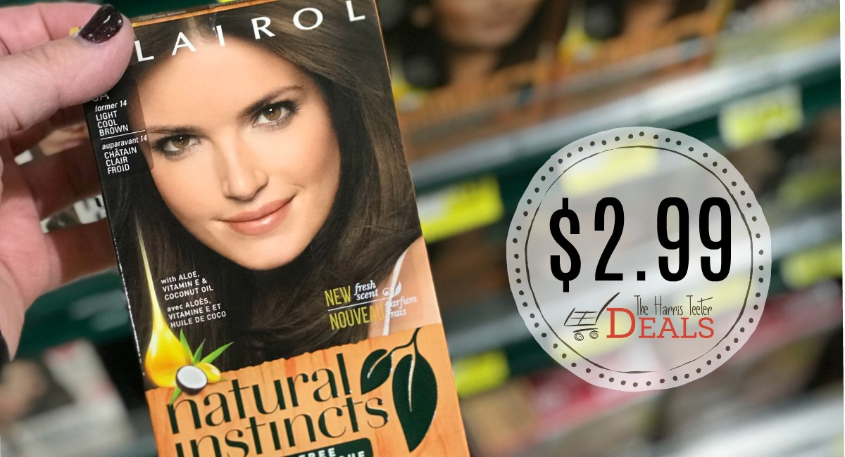 Clairol Hair Color Coupons Rebates The Harris Teeter Deals