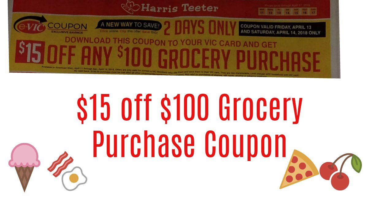No discount code or voucher code needed to enjoy the amazing Enter your Zip/City, State to select your Harris Teeter and view your Weekly Ad. Click on