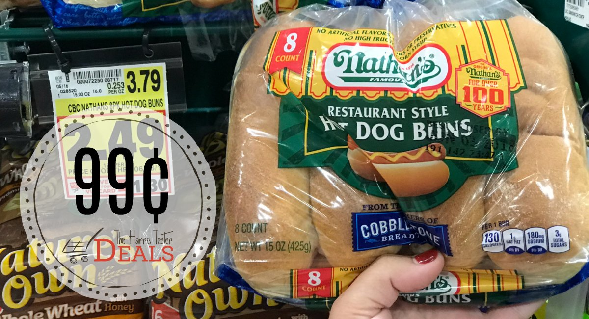 picture relating to Nathans Printable Coupons titled Unusual Nathans Sizzling Canine Coupon: $3.40 at Harris Teeter! - The