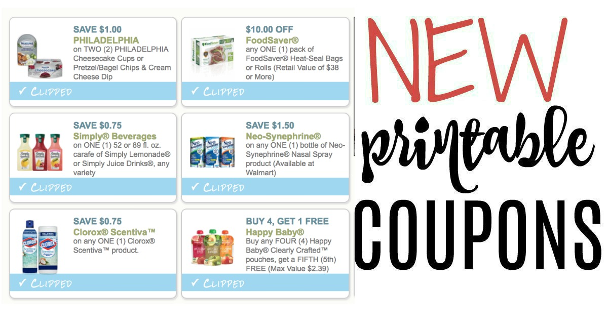 New Printable Coupons Simply Juice Clorox And More The Harris Teeter Deals